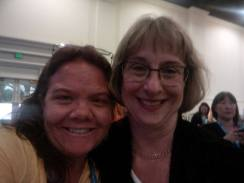 Celeste with Laura Bay, President of National PTA